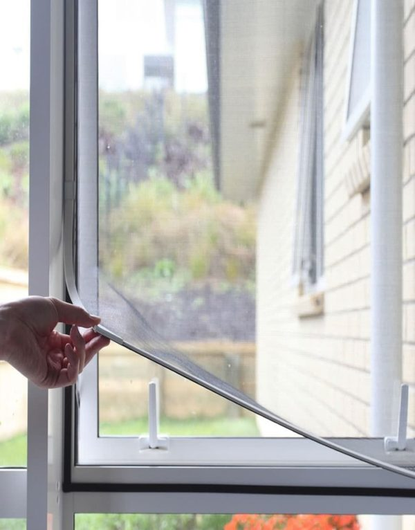 magnetic insect screen for home windows