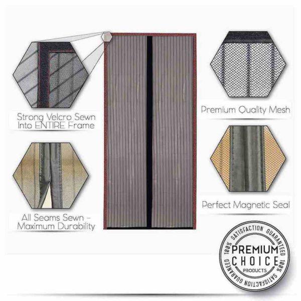 cheapest magnetic screen door uk ireland